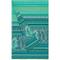 Bassetti - copridivano telo arredo bassetti granfoulard mocenigo z1- 3 misure verde - 350x...