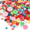 1000 Pezzi Bottone Rotondo Craft Bottoni in Resina per Artigianato Cucito Decorazioni, 2 F...