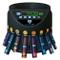 Contamonete Euro con funzione di impilamento in blister di Securina24 (nero - Blacklabel -...