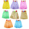 JZK 8 Hula Gonna Hawaiana Corta Vestito Hawaiano per Donna Bambina Bimba Ragazza Costume F...