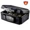Master Lock L1200 Cassetta di Sicurezza, Ignifuga Small con Chiave, Ottima per Documenti,...