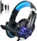 Cuffie da Gioco per PS4 ,Cuffie Gaming con 3.5mm Jack LED Cuffie da Gaming con Microfono B...