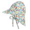 Happy Cherry - Bambine Cappello Sole Tesa Larga Estivo Protezione Collo Cappello Spiaggia...