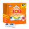 Sole Caps 3 in 1 Bianco Splendente, Detersivo Lavatrice in Capsule Monodose, Triplice Azio...