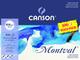 Canson - Carta per acquerelli Montval, colore: bianco naturale 300 g/m² grana fina 24 x 32...