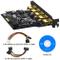 BEYIMEI 5 Porte Scheda di espansione-connettore di Alimentazione SATA 15PIN e Un connettor...