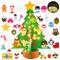 Bageek Albero di Natale in Feltro per Bambini Decorazioni Natalizie Regali Natale Christma...