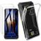 HYMY Cover per DOOGEE S95 PRO Super MOD + 2X Pellicola Protettiva - Morbida Trasparente Si...