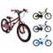 AMIGO - Cross - Bicicletta Bambini - 20'' (per 5-9 Anni) - Rosso