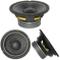 ALTOPARLANTE DIFFUSORE MEDIO BASSO WOOFER MASTER AUDIO CW650/8 CW650 /8 DA 16,50 CM 165 MM...
