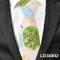 AdronQ Cravatta in Cotone di Lino da Uomo Cravatta Sottile da Donna Cravatta Casual da Uom...