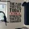 """DesignDivil, adesivo murale con frase motivazionale su salute/allenamento in inglese """"The..."""