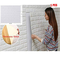 BOGUANG 5 pezzi 77 * 70cm 3D Carta da Parati Mattoni Autoadesiva Wallpaper Brick Adesivi M...
