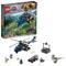 LEGO Jurassic World Inseguimento sull'Elicottero di Blue, Multicolore, 75928