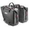 Coppia di borse laterali waterproof nere GIVI GRT718 15+15 litri, con interno di colore gi...