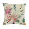 Home Decor - Federa decorativa per cuscino decorativo, motivo floreale, 45 x 45 cm, bianco...