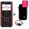 Texas Instruments TI Nspire CX II-T CAS + Garanzia estesa + Cavo di Ricarica + Custodia