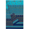 Bassetti - copridivano telo arredo bassetti granfoulard montefano b1 blu - 350x270-cm