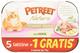Petreet Nat 5+1 Tonno Patate Alimenti Gatto Umido Premium, Multicolore, Unica
