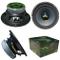 """XPL XW08-403 XW08 403 altoparlante diffusore medio basso woofer 20,00 cm 200 mm 8"""" di diam..."""
