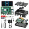 TICTID Raspberry Pi 4 Model B 4GB RAM Starter Kit Aggiornato Raspberry pi 3 con MicroSD Ca...
