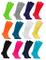 Rainbow Socks - Donna Uomo Colorate Calzini Lunghi Al Ginocchio di Cotone - 12 Paia - Bian...