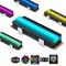 EZDIY-FAB Dissipatore SSD SATA NVMe NGFF M.2 RGB 12V per SSD 2280 M.2,con Protezione Termi...