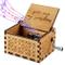 Funmo OMZGXGOD Pure Hand-Classical Sei Il Mio Sole Music Box Hand-Wooden Music Box Artigia...