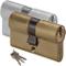 Cilindro da Infilare Sagomato Cisa 0G300 Misura 63 mm 27/37 mm Nichelato