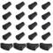 DACARETA 20 Pezzi Gommini di Ricambio per Bastoni da Trekking Gommini per Asfalto 2 Tipi d...