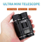 QYWSJ Telescopio Binocolo Pieghevole Compatto 40x22 Con Impermeabile Per Adulti/Bambini, B...