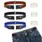CODIRATO 3 Pezzi Cintura senza Fibbia Cintura Elastica Cintura Invisibile Regolabile per U...