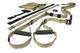 TRX FTKMG2 FORCE KIT Tactical Attrezzature per Fitness, Unisex adulto, Nero/Kaki