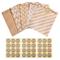 Gudotra 257pack Kit 125pz Sacchetti di Carta Alimenti Caramella Buste Carta Biscotto Busti...
