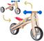 BIKESTAR Bicicletta Senza Pedali e Triciclo (2 in 1) in Legno per Bambino et Bambina da 18...