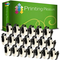 Printing Pleasure 20x DK-11204 17mm x 54mm Compatibile Rotolo da 400 Etichette adesive per...
