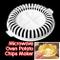 Demiawaking DIY Calorie Basse Senza Grassi Attrezzo per Patatine Fritte per Forno a Microo...