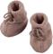 Angelo Baby scarpette in pile di lana Noce mélange. 1 (50/56)