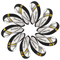 Taylormade Rbladez coprimazza ferri golf 10pcs/set nero/bianco MT/T13