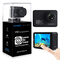 AKASO Action Cam WiFi Native 4K/60fps 20MP Touch Screen Telecomando EIS 39m Impermeabile 3...