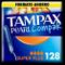 Tampax Pearl Compak Super Plus, Tampon con applicatore, offre comfort, protezione e discre...