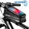 BTNEEU Borsa Telaio Bici Impermeabile Borsa Manubrio Bicicletta con TPU Touchscreen Sensib...
