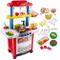 deAO Cucina Giocattolo Happy Little Chef Cucina con Suoni, Luci, Funzione Acqua Reale e Ac...
