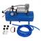 Compressore Aria Portatile 12V DC, Mini Pompa Gonfiatore Portatile per Compressore D'Aria...
