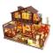 CUTEBEE Miniatura casa delle Bambole con mobili, Fai da Te Kit di Dollhouse di Legno Oltre...