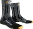 X-Socks Trekking Light Limited, Calze Uomo, Grigio/Nero, 45/47