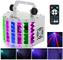 Luci Discoteca,Lixada Fari per Illuminazione Palco 24W RGBW Effetti LED DMX 512 a 7 Canali...