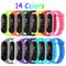 Mardozon 14 Colori Cinturino Xiaomi Mi Band 3 / Mi Band 4 Orologio da Polso di Ricambio pe...