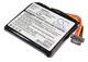 CameronSino - Batteria per navigatore TomTom AHL03711022 VF6M per TomTom Go 820 Live 820 8...