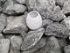 (5 kg) pietre da sauna Diabas (prelavate) 50-80 mm + tazza da sauna come set.